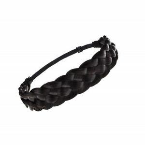 Braided Headband Synthetic Plait Plaited Elastic Hair Band Hair Wear Accessories