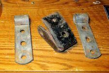 HARLEY PANHEAD SHOVELHEAD FL FLH ELECTRA DUO GLIDE BUDDY SEAT BRAKETS PARTS