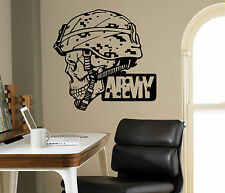 Army Emblem Wall Vinyl Decal Military Vinyl Sticker Armed Forces Home Interior 6