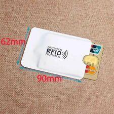 RFID Hülle für Kreditkarte Bankomatkarte Schutzhülle NFC Blocker Blockieren
