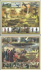 D0392 GRENADA CARRIACAU WWII BATTLE OF BRITAIN WORLD WAR II 2KB MNH
