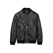 Timberland Leather Bomber Black Small