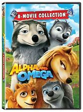 ALPHA AND OMEGA 8 MOVIE COLLECTION New Sealed DVD