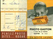 Pochette photos ancienne Kodak Plus - X 1950