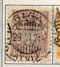 Latvia 1921-33 Early Issue Fine Used 50s. 182322