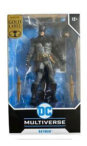 BATMAN  McFarlane Gold Label Collection DC Multiverse Walmart Exclusive NEW!