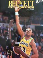 Beckett Basketball Magazine, Issue #12 July 1991 Kareem Abdul-Jabbar On Cover