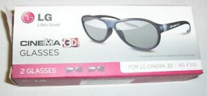 Pk 2 x LG passive 3D Glasses AG-F310