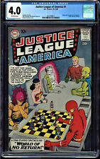JUSTICE LEAGUE OF AMERICA #1 CGC 4.0 1ST JLA IN THEIR OWN TITLE CGC #2037498017