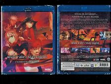 Fate/Stay Night: Unlimited Blade Works (Brand New Blu-ray Disc, 2012)