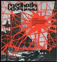 Architettura  Casabella Continuità n. 250 aprile 1961 Direttore Rogers