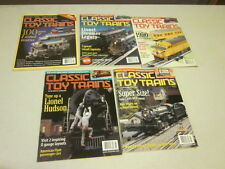 Lot of 5 Classic Toy Trains Magazines 2000 JAN,FEB,MAR,MAY,JULY