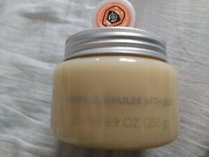 THE BODY SHOP VANILLA BRULEE BATH JELLY 255g & SATSUMA SHIMMER LIP BALM