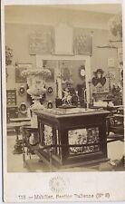 Expo universelle Paris 1867 Section ItaliePhoto cdv Léon & Lévy Vintage albumen