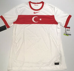 Turkey Home Jersey White 2020 Nike M-L CD0735-100 NWT