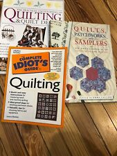 Quilting And Quilt Design Books Lot Of 3 Euc Includes Lots Of Templates