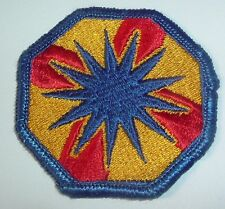 AMERICAN PATCHES-1970/1980 U.S ARMY 137th SUPPORT BRIGADE BRIGADE FULL COLOUR