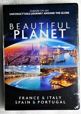 Brand New GIFT Ready Beautiful Planet France Italy Spain Portugal DVD Travelogs