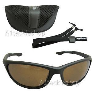 Wychwood Wrap Polarised Fishing Sunglasses - Amber / Brown Lens