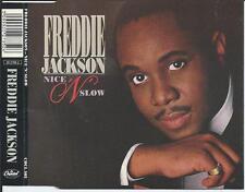 FREDDIE JACKSON - Nice 'N' Slow CDM 3TR UK RELEASE (CAPITOL) 1988 RARE!!