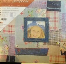 MBI Frame Front Scrapbook With 20 Top Loading Pages