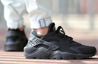 Nike Air Huarache Triple Black 318429-003 Running Shoes Men's Multi Size NEW