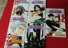 Japanese Collectors Manga - Bleach - 14 , 15, 16, 17, 18 anime manga shonen