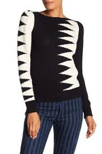 NEW Marc Jacobs Intarsia Colorblock Sweater SZ S