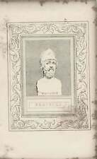1835 Engraved Portrait Pericles  G Cooke /