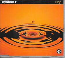 SYSTEM F - Cry CDM 5TR Trance (Dance Division) 2000 Germany Ferry Corsten