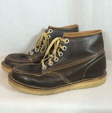 Vintage Thom Mcan Men s Hiking Ankle Boots made in Italy Rugged Vibram Soles  ... 85eda322924