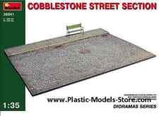 COBBLESTONE STREET SECTION DIORAMA 1/35 MINIART 36041