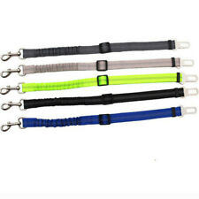 2x Anti Shock Pet Dog Car Seat Belt Lead Clip Safety Harnesses Strap Adjustable