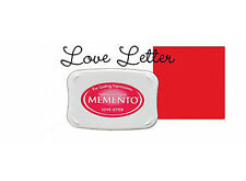 Memento - Dye Ink Pad - LOVE LETTER - Red