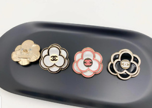 30mm Vintage Chanel Camelia Sewing Button