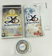 Jeu Sony PSP VF  Ys The Ark of Napishtim  avec notice  Envoi rapide et suivi