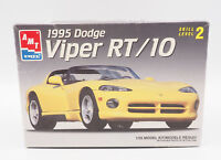 AMT Ertl 1995 Dodge Viper RT/10 1:25 Scale Plastic Model Kit Open Box