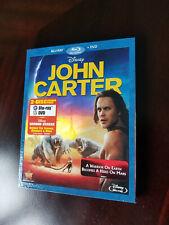 John Carter of Mars (Blu Ray + DVD Disc) with Slipcover