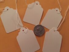 36 Medium white Tags~Retail Boutique Store~Junk Journal~Mixed Media Project