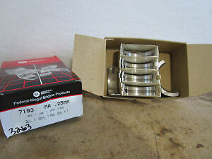 Federal Mogul 7193MA .25MM Engine Crankshaft Main Bearing Set Ford Mercury Mazda