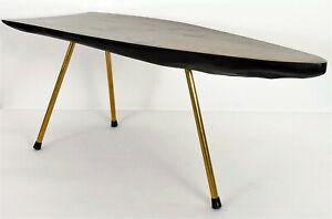 An original vintage Carl Aubock (Auböck) Walnut Tree trunk table around 1950