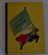 Nouvelle annonce Jean de brunhoff LE ROI BABAR éditions du jardin des modes 1933