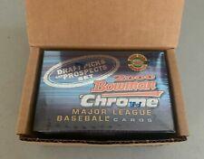 2000 Bowman Chrome HTA Draft Picks & Prospects 110-card Factory Sealed Set Mint