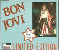 Bon Jovi Limited edition picture disc interview CD