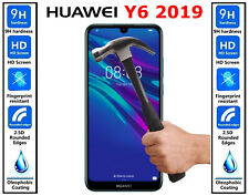Genuine 100% Ultra HD TEMPERED GLASS Screen Protector Cover For Huawei Y6 2019