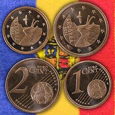 1 & 2 euro cent pièce pièces coin coins Kursmünze kursmünzen Andorre 2014 immédiatement