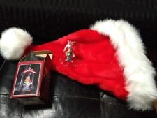 Vtg Collectible Keepsakes Ring In The Clowns Bell Ornament Violin Player Box+Hat
