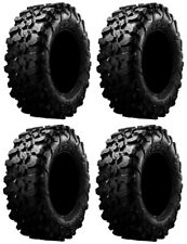 Full set of Maxxis Carnivore Radial (8ply rated) ATV Four Tires 32x10-14 NEW 4!