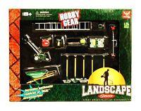 Phoenix Garage Diorama Accessory Set - Hobby Gear Landscape Service(1/24 Scale)