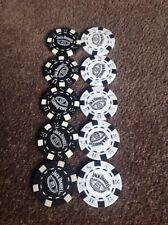 10 Jack Daniels Old No 7 Brand Poker Chips